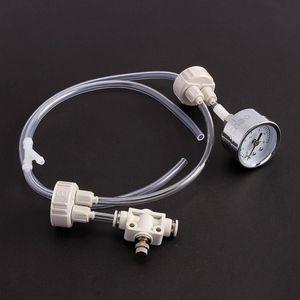 Acuario DIY Kit generador de CO2 con presión Ajuste de flujo de aire Planta de agua Tanque de peces Acuario Válvula de CO2
