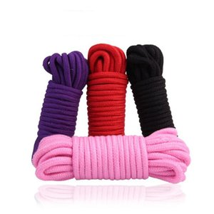 Wholesale 10M Fetish Alternative slave bondage rope Restraint CottonTied Rope sex products for couples adult game BDSM roleplay