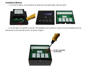 Бесплатная доставка стоимость высококачественная сенсорная панель 0-10V LED Dimmer с беспроводным пультом дистанционного управления для светодиодной панели 0-10V функция затемнения