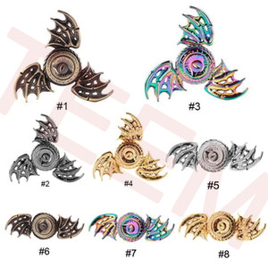 Coloré Dragon's eye Fidget Spinner Métal Rainbow Dragon Main Finger Spinners pour l'autisme et TDAH Focus Anxiété Relief Stress Toys 40