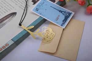 Heißer Verkauf Weinlesebronze-Bookmark-Schlüssel und die Meerjungfrau, Federn und Rotwild, kreativer Bookmark des Absatzes des Flagon drei freies Verschiffen