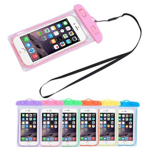 Best Price Travel Swimming Waterproof Bag Case Cover for 5.5 inch Cell Phone