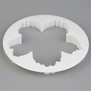 4PS Peonía pétalo Cortador de molde Flores Pastel Goma Pasta Decorar Moldes DIY Cookie Sugar Fondant Cortador Decoración de la torta