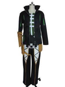 Contos de Zestiria Dezel Halloween Suit Uniforme Traje Cosplay