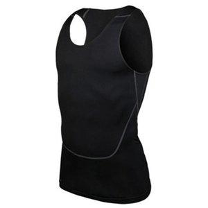 Großhandels- Chic Men Compression Base Line Training Fitness Ärmelloses Shirt Weste Atmungsaktive Top S-2XL