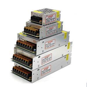 6A 10A 15A 20A 25A 30A Led Transformer 120W 180W 250W 300W 360W 400W Fonte de Alimentação Para Led Módulos Led Tiras DC 12V