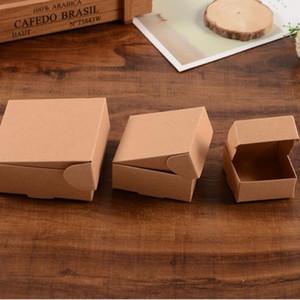 Коробка 8.5*6*3cm коричневая Kraft бумажная для конфеты/еды/венчания / коробки дисплея коробки подарка ювелирных изделий упаковывая ZA4519