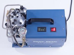 1.8KW Elektrik 30MPA Yüksek Basınçlı Hava Patlama Pompası Su soğutma Tek Silindir Tüfek PCP Şişirme Hava Tabancası