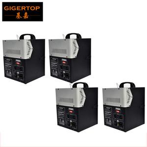 gigertop 4pcs muito boa qualidade 200W 2 Chefe Stage DMX Projector Máquina fogo spray Chama Para Stage Effect