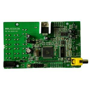 Freeshipping del osciloscopio digital de DIY kit con sonda manual de bolsillo del osciloscopio Traje electrónico Conjunto de Aprendizaje