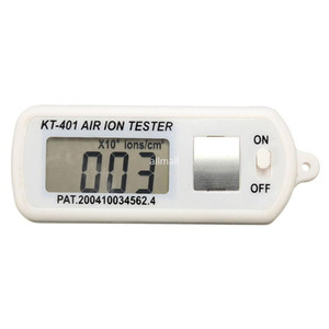 Freeshipping Alta Qualidade Air Ion Tester Medidor Contador -Ve Íons Negativos Com Para Máximo Pico Hold