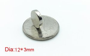 Hot N35 magnet sell by bag, 20pcs per bag N35 magnet of size Dia12mm, 3mm thickness,Industrial magnet,daily magnet,