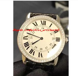 Роскошные часы Рождественский подарок Новый Бренд Blcak Ремешок Женщины Часы W6701008 Мужчины Женщины Нейтральные 36 мм Автоматические Дамские Часы