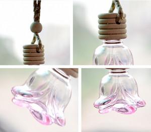 Vente en gros de Nice Prix Qualité Essential Oil COLOURFUL Mini bouteilles parfum petites bouteilles d'huile diffusants Bouteille en verre voiture