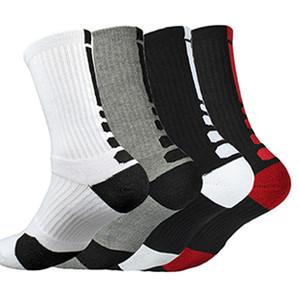 Kostenloser Versand Professional Basketball Socken Dickere Handtuch Bottom Socken Herren Elite Schuh Zucker Creme Deodorant Hase Outdoor Sports Socken Wer
