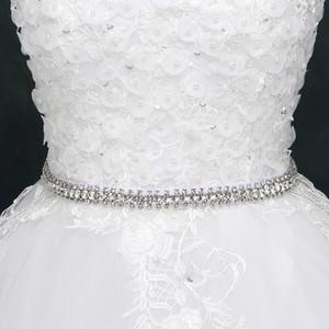 멋진 웨딩 벨트 긴 신부 새시 웨딩 액세서리 반짝 웨딩 벨트 Cheap New Arrival 270cm Dress Belt