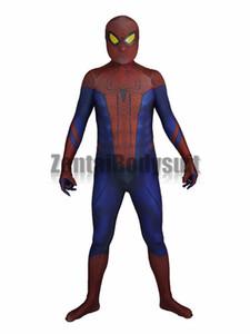 Increíble traje de hombre araña Traje de Spiderman-3D Impreso cosplay Zentai Disfraces de Halloween