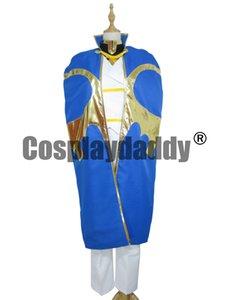Code Geass Kururugi Suzaku Cosplay Kostüm Uniform Anzug + Umhang