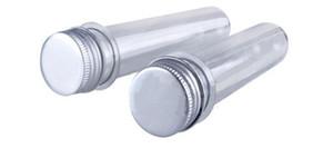 Прозрачная пробка любимчика испытания соли ванны маски 200pcs 40ml с алюминиевой крышкой, 40cc, ясной пластичной косметической пробкой с давлением-чувствительным уплотнением