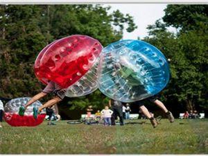Satılık 2019 Şişme Tampon Topu Vücut Zorb Loopyball Kabarcık Topu
