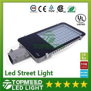 LED Sokak Işık 12 w 24 w 30 w 50 W 60 W 80 w 100 w 85-265 V Su Geçirmez IP65 Bahçe Yol Stadyumu LED Lambalar Sel ışıkları Dış Aydınlatma 1616