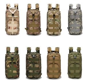 30L Открытый Спортивные сумки Военные Тактические рюкзаки Molle рюкзаки Кемпинг Треккинг сумка рюкзаки походные traving Плечи сумка