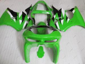 Carenados de plástico Zx9r 99 Kits de carenado para Kawasaki Zx9r 98 Kits de cuerpo completo negro verde Zx-9r 1999 1998 - 1999