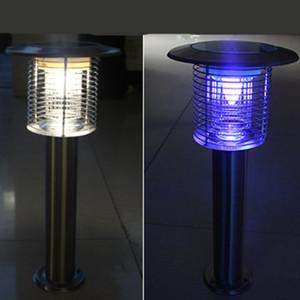 LED Solar Garten Moskitos 1.2KV Lichter 58 cm Edelstahl Outdoor Wasserdichte Lampen Home Beleuchtung High Power Grid Fliegen-Insekt