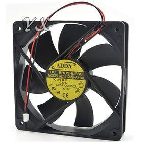 새로운 ADDA AD1212LB-A71GL 12cm 120mm 120 * 120 * 25mm 12V 0.24ADC 냉각 컴퓨터 볼 Brg 2 핀 FAN