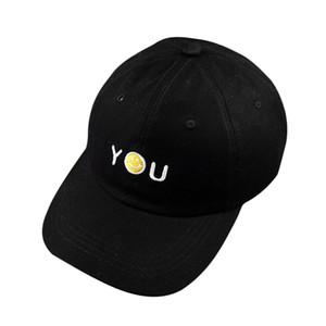Unisex Snapback Baseball Peaked Cap Smiling Face Adjustable Hip Hop Hat DM#6