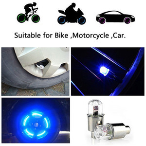 Arrival New Hot 1Pair Motor Cycling Bike Tyre Tire Valve LED Car Bicycle Wheel Lights Bicycle tire light Arrival New Hot 1Pair Motor Cyclin