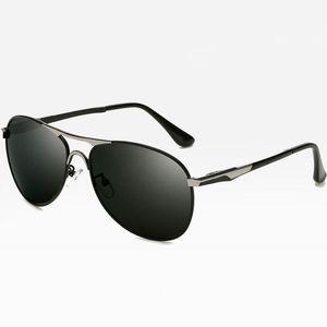 Классические поляризованных солнцезащитных очков для мужчин ретро пилот очки цвет Polaroid линзы вождения мужчины Марка дизайнер металла поляризованных солнцезащитных очков старинные