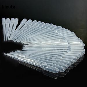 3ML 일회용 플라스틱 파스퇴르 피펫 졸업식, 눈 Droppers 액체 향수 향기 에센셜 오일 샘플