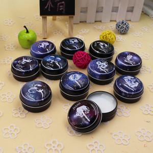 Mini Unisex Magic 12 Constellation Zodiac Solid Perfume Deodorant Elegant Fresh Fragrance Suitable for Any Type of Skin ZA2002