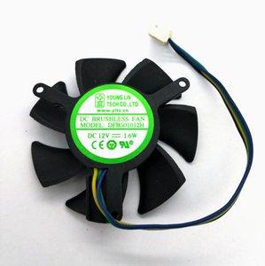Новый оригинальный YONLING DFB501012H 12В 1.6 Вт графика DFB501012M 12В 0.8 Вт карта вентилятор охлаждения