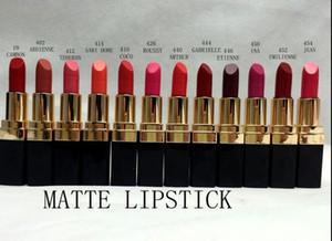 Freie neue Kosmetikverfassung Rougelippenstiftlippenstift 12 Farbe 3.5g 2pcs / lot des Verschiffens