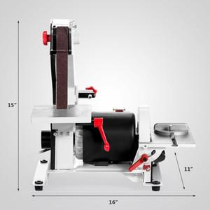 """1 """"× 30"""" حزام السنفرة يعمل بسرعة 13.5 متر / ثانية PHEER GRINDER آلة متغيرة السرعة SAND TRAY BELT MACHINE"""