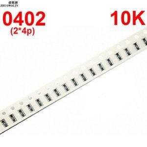 Toptan-100 adet / grup 5% 0402 * 4 RES ARRAY 10 K OHMS 8 P Çip Direnç Ağları Diziler Array Direnç YXSMDZ3466