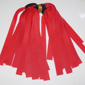 10Pieces 0.75мм красного цвета латекс Замена Плоской резинка Труба для наружной охоты Slingshot Катапульты Резины Slingshot сухожилий Bands