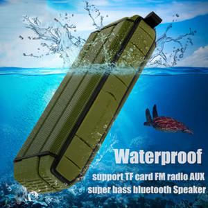 Бесплатная доставка новые Bluetooth-динамики Super Bass беспроводной 3D стерео Dual 5 Вт драйверы открытый спорт водонепроницаемый колонки поддержка MIC TF карта