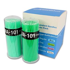 1000PCS 일회용 속눈썹 접착제 솔루션 접목 특수 청소 스틱면 마스카라 브러쉬 면봉면 도구 좋은 붙여 넣기