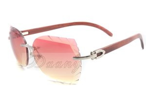 2019 new natural wood silver sunglasses, 8300817 custom sunglasses, the name can be engraved on the lens, size: 58-18-135mm sunglasses,