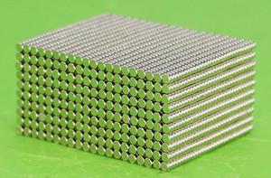 Heißer verkaufender harter Magnet durch Tasche, 1000pcs pro Beutel N35 Magnet der Größe Dia2mm, 1mm Stärke, industrieller Magnet, lebender Magnet, harter Kühlschrankmagnet