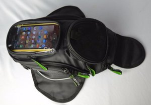 Moto TANK OIL FUEL Magnet BAG Motorbiker Oxford Sacoche de GPS étanche Sacoche TANK BAG Bagage BIG View Area