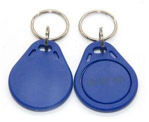 Il prezzo di fabbrica fa l'alta qualità EM4100 125khz 100pcs / lot ISO11785 ABS RFID keychain promozionale varie etichette chiave
