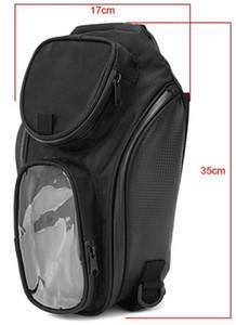Universal 1680D Nylon Motorcycle Tank Bag Magnetic Oil Fuel Moto Riding Bag Impermeable Magnético Saddle Bag Backbag