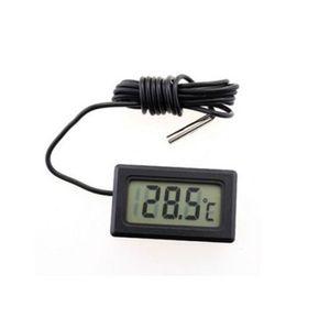 LCD digital geladeira freezer termômetro carro medidor de temperatura mini tamanho