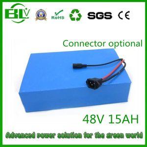 China stock 48V 15.4AH Rack Batterie USA EURO Keine Steuer freies Schiff für 48V 750W Fahrradheckgepäcklithiumbatterie 30A BMS