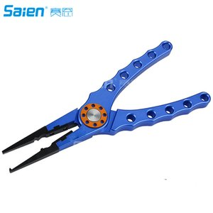 Booms Fishing X1 Aluminum Fishing Pliers Resistant Saltwater for Cutting Braid Line and Remove Hooks or Lure with Coiled Lanyard