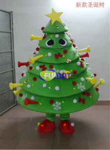 FUMAT Deluxe Árvore De Natal Traje Da Mascote Da Festa de Natal Crianças Fancy Dress Factory Direct Mascote Da Árvore de Natal Fotos de Personalização